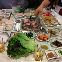 Photo taken at Korean Spring BBQ by neopage on 12/9/2013