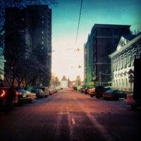 Photo taken at Воронцовская улица by Polina E. on 3/7/2013