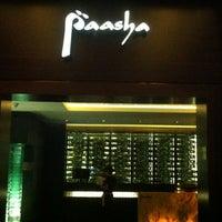 Photo taken at Paasha by Sumeet on 11/3/2012