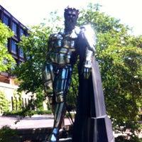 Photo taken at Naked Guy Statue by John Kristian S. on 6/17/2013
