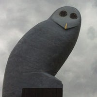 Photo taken at Owl Statue by Gary L. on 11/30/2012