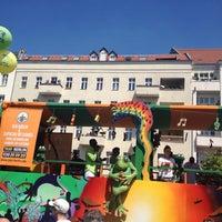 Photo taken at Hermannplatz by Matthias R. on 5/19/2013