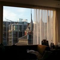 Photo taken at The Park Tower Knightsbridge by Khalfan B. on 12/16/2012