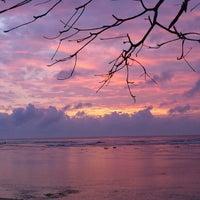 Photo taken at Pantai Ujung Genteng by Enny Nur R. on 10/5/2012