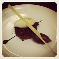 Photo taken at L'Opéra Restaurant by Caroline R. on 12/1/2012