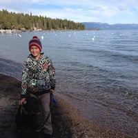Photo taken at Tahoe Park Homeowners Beach by heather w. on 11/28/2013