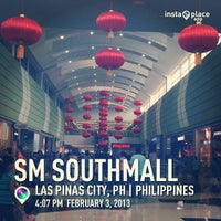 Photo taken at SM Southmall by Theresa on 2/3/2013