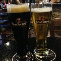 Photo taken at Beer Factory by Juan Carlos on 1/13/2013