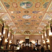 Photo taken at Palmer House - A Hilton Hotel by Young K. on 11/13/2012