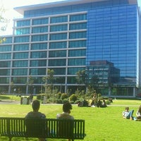 Photo taken at Monash Caulfield Common Lawn by Ah Lai H. on 10/2/2012