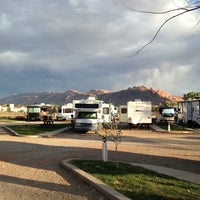 Photo taken at Moab Valley Rv by Chris on 5/19/2013