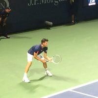 Photo taken at Court 13 - USTA Billie Jean King National Tennis Center by Carolyn on 8/31/2016