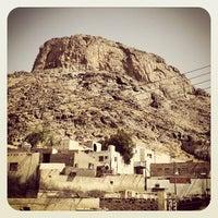 Photo taken at Jabal Nur - Ghar Hira by Zoheb on 6/1/2013