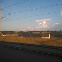Photo taken at Gare SNCF de Sillé-le-Guillaume by Fabien D. on 6/19/2013