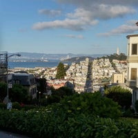 Photo taken at Russian Hill by Marina S. on 5/14/2016