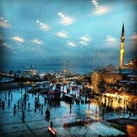 Photo taken at Hamdi by Yasemin Turan on 1/26/2013
