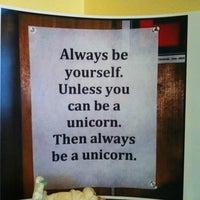 Photo taken at Unicorn Café by Geoff S. on 1/23/2013