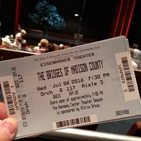Photo taken at John F. Kennedy Center Eisenhower Theatre by Scott B. on 7/6/2016