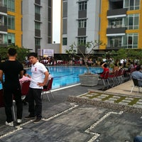 Photo taken at Swimming Pool by Adith P. on 3/18/2012