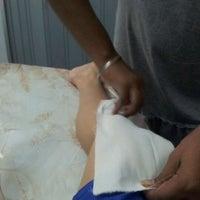 Photo taken at Sheela's Beauty Studio by Daya MJ on 3/17/2012