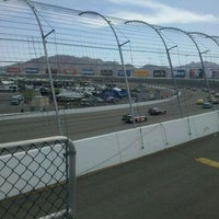 Photo taken at Las Vegas Motor Speedway by Charlie C. on 3/11/2012