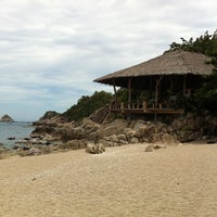 Photo taken at Haad Tien Beach Resort by Krissada N. on 6/28/2012