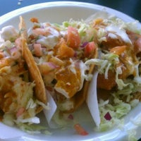 Photo taken at Tacos Baja Ensenada by Elizabeth C. on 10/16/2011