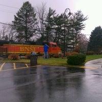 Photo taken at Rochelle Railroad Park by Jill D. on 11/26/2011