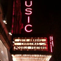 Photo taken at Music Box Theatre by Edward S. on 12/24/2011