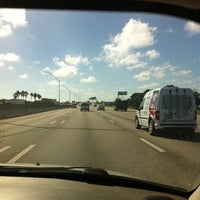 Photo taken at I-95 & Palmetto Park Rd by Emily S. on 11/16/2011