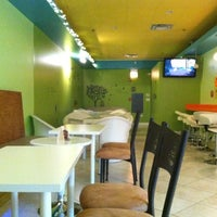 Photo taken at MyBerry Frozen Yogurt by Christine W. on 1/1/2012