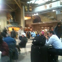 Photo taken at South Station Food Court by Carlos S. on 10/27/2011