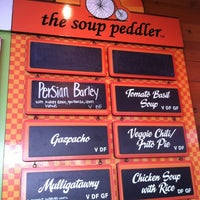 Photo taken at Soup Peddler Real Food & Juice Bar by A.D. on 8/17/2012