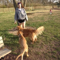 Photo taken at Tower Park Large Dog Park by Kurt L. on 3/6/2012