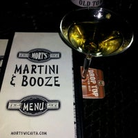 Photo taken at Mort's Martini and Cigar Bar by Charles P. on 2/25/2012