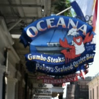 Photo taken at Oceana Grill by Kia A. on 8/17/2011