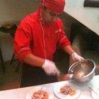 Photo taken at Restaurant Mankora by Rafael G. on 10/8/2011