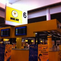 Photo taken at Nok Air (DD) Domestic Check-In Area by deno s. on 10/15/2011