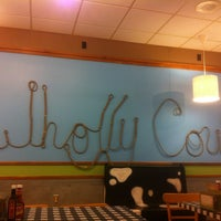 Photo taken at Wholly Cow Burgers by John M. on 3/13/2012