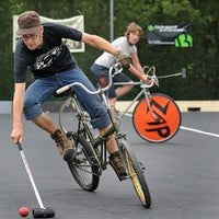 Photo taken at Bike Polo Pit by MetroFocus on 3/15/2012