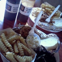 Photo taken at Phat Boyz BBQ by Heather A. on 8/16/2011