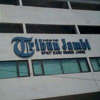 Photo taken at Tribun jambi by Diki S. on 10/25/2011