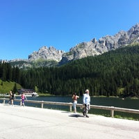 Photo taken at Lago di Misurina by Federica B. on 8/20/2012