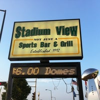 Photo taken at Stadium View Bar and Grill by Todd J. on 8/1/2011