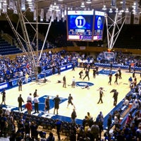 Photo taken at Cameron Indoor Stadium by lilal5 on 12/30/2011