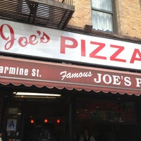 Photo taken at Joe's Pizza by Wendy B. on 3/29/2012