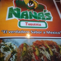 Photo taken at Nana's Taqueria by Brian L. on 10/1/2011