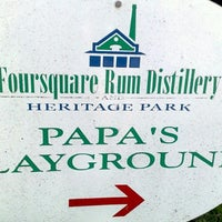 Photo taken at Foursquare Rum Factory and Heritage Park by David G. on 4/13/2011