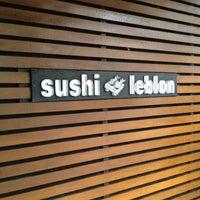 Photo taken at Sushi Leblon by Luca W. on 12/26/2011