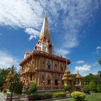 Photo taken at วัดไชยธาราราม (วัดฉลอง) Wat Chalong by Andrey 9. on 6/28/2011